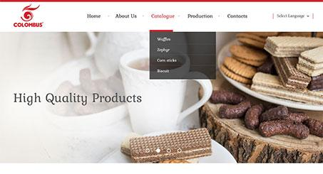 Biscuit Manufacturer Website