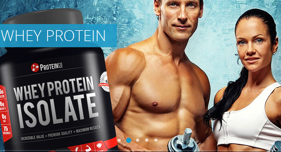 Online sports nutrition store